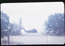 1973 35mm photo slide OKlahoma and Texas vacation trip #6 Army Helicopters