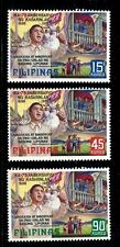 Philippines 1211-1213 MNH Independence, 75th Ann. Proclamation of Martial law.