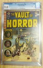 The Vault of Horror #26 CGC 9.0 White Mountain Pedigree Off-White/White Pages
