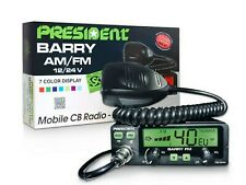 RICETRASMITTENTE CB PRESIDENT BARRY 40CH. AM/FM MULTINORM 4 WATT