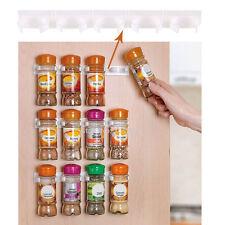 Cuisine Organisateur Baton étagère à épices Stockage Crochets de Porte épice