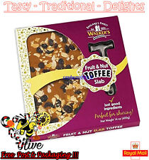 Walkers Nonsuch Fruit and Nut Toffee Slab with Hammer Traditonal - 400g