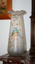 Vase émaillé Legras ( 1 )