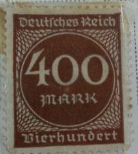 Germany 1923 Stamp 400 Mark MNH Stamp Rare Antique Excellent StampBook1-146
