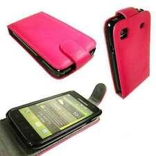 caseroxx Flip Cover für Samsung I9001 Galaxy S Plus in pink aus Kunstleder