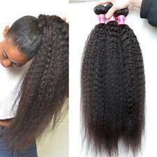 16 18 20'' 3 Pcs Brazilian Yaki Straight Unprocessed Virgin Human Hair Extension