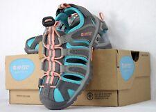 Hi-Tech Child Size 11 Sandal Shoe Cove Outdoor Grey Blue Pink Punch CH 31502