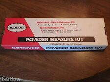 VINTAGE LEE #90100 IMPROVED POWDER MEASURE KIT IN BOX-15 MEASURES .3CC TO 4.3CC