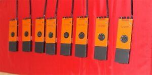8 Stück FuG 10 HFG BOS von Telefunken mit Antenne Gesamtposten
