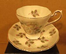 Vintage Royal Standard White Rose Pattern 282 Teacup & Saucer Made in England