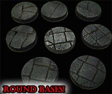 """25mm """"Dungeon Floor"""" Round Miniature Bases STONES DUNGEON TILES FRONTLINE GAMES"""