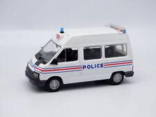 RENAULT TRAFIC 1 POLICE 1989 SURELEVE NOREV HACHETTE 1/43 NO GENDARMERIE WHITE