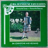Jim Johnstone Band 'Favourites' (1983) vinyl LP Ross WGR 086  NM/EX
