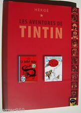 HERGE ¤ LES AVENTURES DE TINTIN ¤ TINTIN AU TIBET/LE LOTUS BLEU ¤ 2007 +JAQUETTE