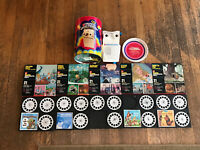 Vintage GAF Talking View-Master Stereo Viewer + Box + 5 Reels - Please Read