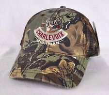 *CHARLEVOIX MICHIGAN* Camouflage Trucker mesh Ball cap hat *OURAY* snapback