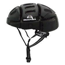 Foldable and Easy to Carry Cycle Helmet Black MORPHER FOLDING HELMET
