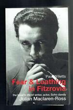 Willetts, Paul; Fear and Loathing in Fitzrovia. Dewi Lewis 2003 VG