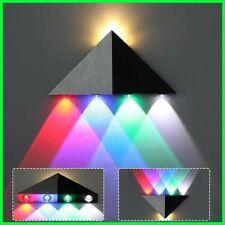 5LED Triangle Shape LED Wall Lamp Home Wall Night Light for Living Room Showcase
