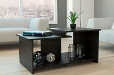 Wema Collection Coffee Table, Cocktail Table with Two Level Surfaces PlusMLX3923