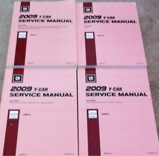 2009 Chevrolet Chevy Corvette Service Shop Workshop Repair Manual Set FACTORY GM