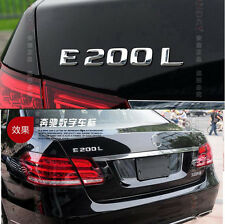 E672 E200 E200L Emblem Badge auto aufkleber 3D Schriftzug Plakette car Sticker