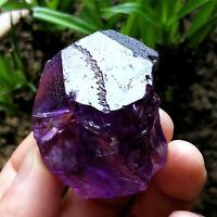 63g Big Deep Etched Purple Nirvana Quartz Natural Amethyst Interference Quartz
