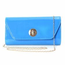 Blue Small Size Clutch Bag for Women Shoulder Strap Handbag Bag for Women