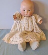 """SWEET 13"""" ARMAND MARSEILLE BYE-LO TYPE BABY DOLL"""