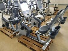 PRECOR Recumbent Bike 835 mit P80 Konsole Ergometer Internet Touch Fitness Gym