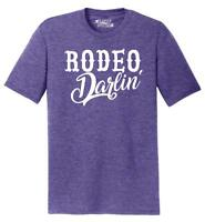 Mens Rodeo Darlin' Country Tee Tri-Blend Tee Redneck Southern Western
