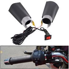12V Universal Motorcycle Motorbike Spare Handlebar Warm Heated Grip Kit Pads LE