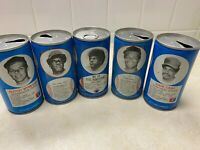 Lot of 5 RC Cola Cans Richard, Wynegar, Armstrong, Carew, & Cash