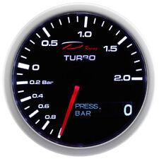 D Racing 2in1 Pressione di Carica Strumentazione Olio Boost Pressure Calibro