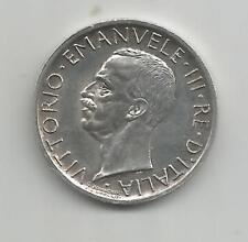 58B) ITALIA 5 LIRE 1927R - SILVER 0,835 - XF/UNC