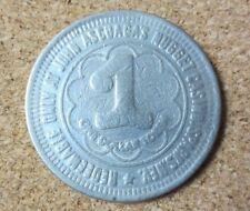 John Ascuaga's Nugget Casino Sparks Neveda $1 Dollar Gaming Token Coin (Pg1735)