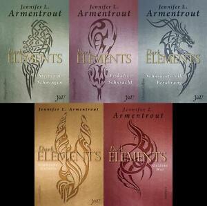 Jennifer L. Armentrout (Jugend) / Dark Elements Band 1-5 plus 1 exklusives P ...