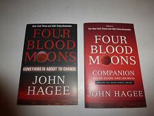 FOUR BLOOD MOONS COMPANION STUDY GUIDE AND JOURNAL,John Hagee &1st Book 166