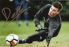 Mattia Del Favero Sport Foto Autografo Pescara Calcio Soccer Signed
