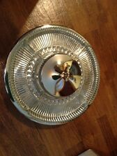Nice vintage Kromex lazy susan with center bowl and four large  serving dishes