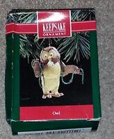 Winnie The Pooh Owl Lights Strand Hallmark Keepsake Christmas Ornament