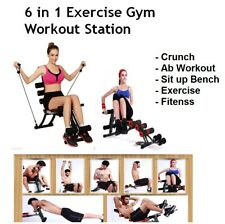 Home Gym Ab Workout Fitness Exercise Abdominal Machine Six Pack Care Bench