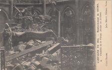CPA GUERRE 14-18 WW1 REIMS 94 chapelle de la vierge st rémi écrite 1919