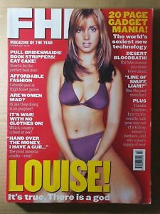 FHM Magazine October 1997 No.93 (350)(Rare) LOUISE REDKNAPP - Heavy Magazine