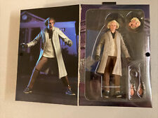 NECA Doc Brown 7 inch Action Figure