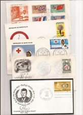Africa- (43) Fd covers,many countries ( priced low to move them)