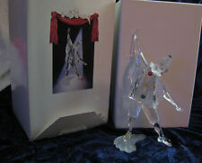 "Swarovski SCS Members Only ""Masquerade Pierrot"" w/Stand and Plaque 1999 MIB"