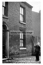 pt0942 - Lancashire Cotton Industry , Knocker at 5am - photo 6x4