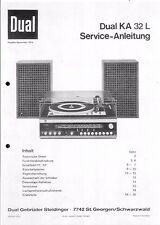 Dual Service Manual für KA 32 L