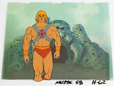 He-Man original production Cel & copy background: HE-MAN